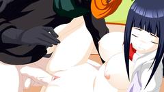 Hinata Training : Obito hardcore fucks sweet Hinata pussy