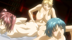 Busty glamour babes in hardcore group action - hentai porn toon