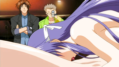 Blackmailed busty girls get into the big trouble - hentai porn