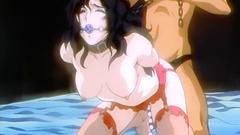 BDSM fetish fuck with seductive brunette slut