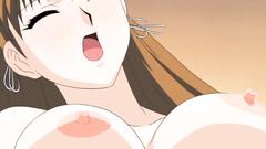 Busty anime cutie get drilled till orgasm