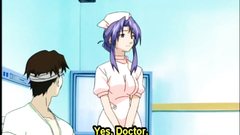 Coed anime cutie hot riding dick in the hospital