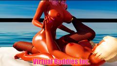 Virtual Baddie Tribbing