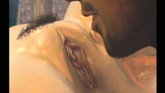 Cocking sucking all over the place on a great blowjob 3d video
