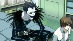 Ryuk fucks an amazing Misa Aname in her mouth and twat   Death Note porn