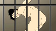 Abduction Amanda : Dirty BDSM in prison