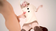 Kinky 3d babe plays hard with a horny dude