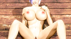 Short haired beauty with big tits is haivng her young vagina in sexy tight screwed