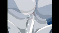 Lovely schoolgirl gets passionately drilled by her futunari friend