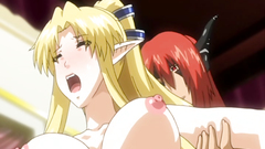Brutal drilling of sexy and hot blonde elf with big boobs