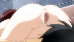 Naughty hentai babes having fun in the shower