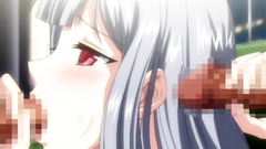 Hentai cuties in hardcore banging action