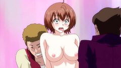 Awesome orgy with busty hentai cuties