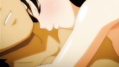 Young hentai couple films their hot sex on camera