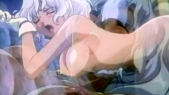 Delicious fantasy cutie gets rammed from behind