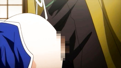 Hot anime slut with big tits takes big dick deep in her wet cunt