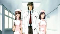 Rough fetish sex with beautiful hentai nurses