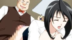 Sweet busty office slut gets fucked by everybody