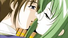 Interesting anime love story in erotic hentai toon