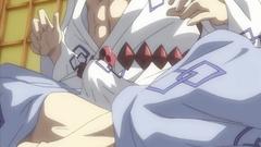 Japanese hentai cutie threesome hard sex