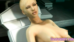 3D Jessica Alba Fucked by Fanastic Four Foot Cock