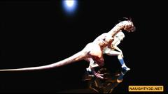 Raptor Fucks a Girl